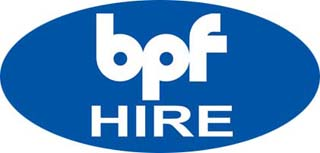 BPF Hire - Plant & Tools, DIY, Gardening, House and Maintenance equipment hire